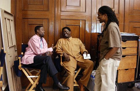 Chris Rock, Bernie Mac, and Ali LeRoi in Head of State (2003)
