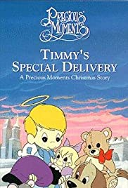 Timmy's Gift: A Precious Moments Christmas Poster