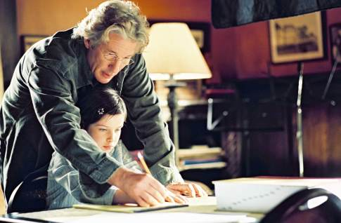 Richard Gere and Flora Cross in Bee Season (2005)