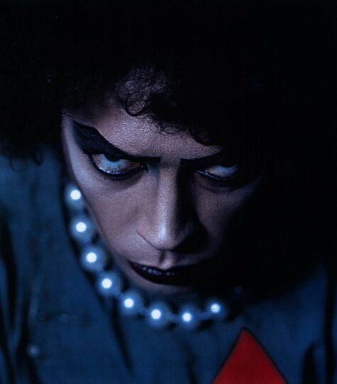 Tim Curry stars as Dr. Frank-N-Furter