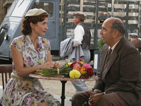 Marie Bunel and Gérard Jugnot in The Chorus (2004)