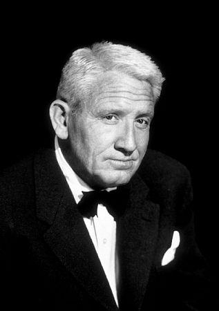 Spencer Tracy, circa 1952. Modern silver gelatin, 14x11 unsigned, $600 © 1978 Bud Fraker MPTV