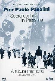 Sopralluoghi in Palestina per il vangelo secondo Matteo Poster