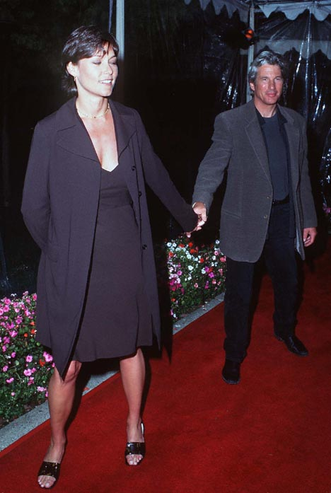 Richard Gere and Carey Lowell at an event for Primal Fear (1996)