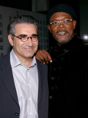 Samuel L. Jackson and Eugene Levy at The Man (2005)