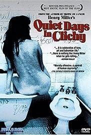 Quiet Days in Clichy Poster