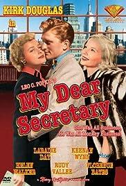 My Dear Secretary Poster