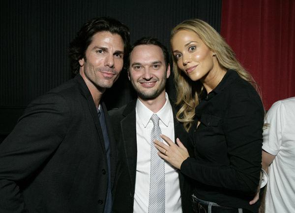 Elizabeth Berkley, Greg Lauren, and Jeff Vespa in Nosebleed (2008)