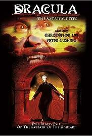 The Satanic Rites of Dracula Poster