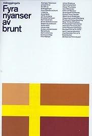 Fyra nyanser av brunt Poster