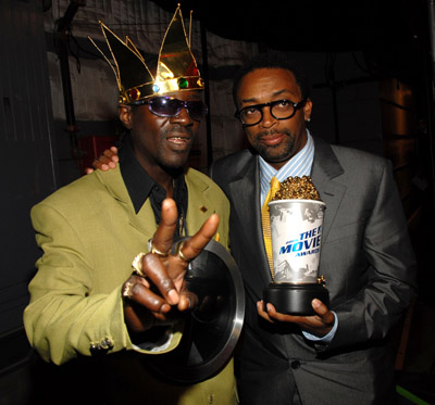 Spike Lee and Flavor Flav at 2006 MTV Movie Awards (2006)