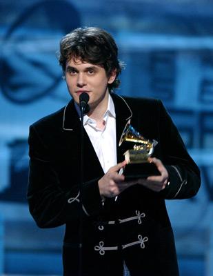 John Mayer at The 47th Annual Grammy Awards (2005)