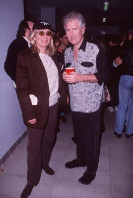 Penny Marshall and Graham Nash