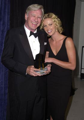 Charlize Theron and John Frankenheimer