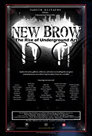 New Brow: Contemporary Underground Art Poster