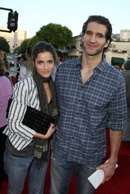 Amanda Peet and David Benioff at Pineapple Express (2008)