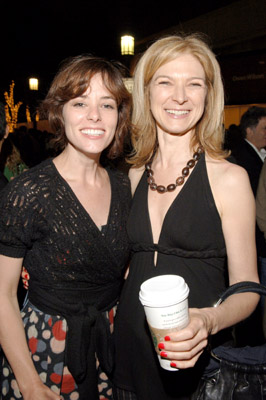 Parker Posey and Dawn Hudson at an event for The Devil Wears Prada (2006)