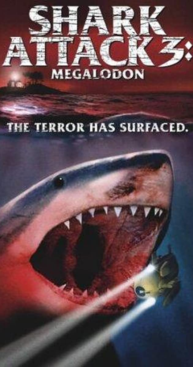 shark attack 3  megalodon  video 2002