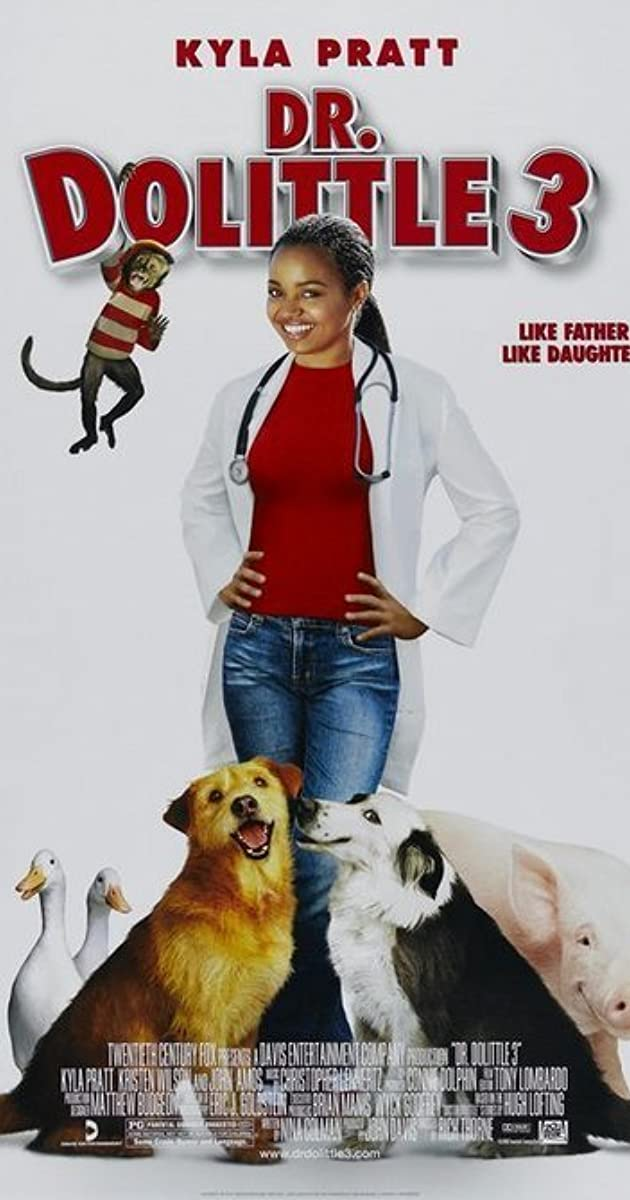 Daktaras Dolitlis 3 / Dr. Dolittle 3 (2006) online