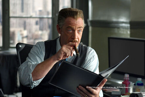 J.K. Simmons in Spider-Man 2 (2004)