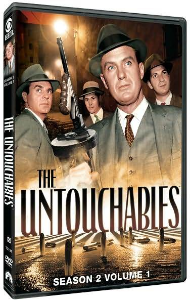 Abel Fernandez, Nicholas Georgiade, Paul Picerni, and Robert Stack in The Untouchables (1959)