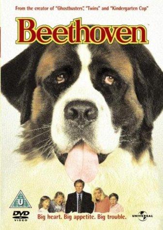 Charles Grodin, Bonnie Hunt, Nicholle Tom, Christopher Castile, Sarah Rose Karr, and Chris in Beethoven (1992)