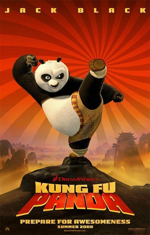 Kung Fu Panda (2008)  Cover