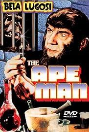 The Ape Man Poster