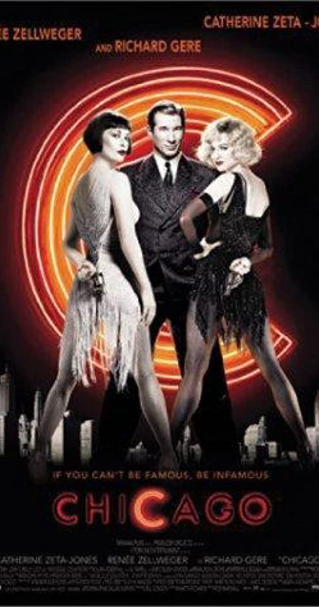 Need ideas for my English, I'm doing Chicago The Musical?