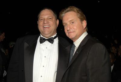 Michael Douglas and Harvey Weinstein