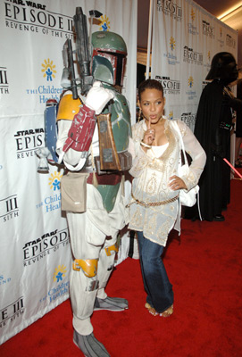 Christina Milian at Star Wars: Episode III - Revenge of the Sith (2005)