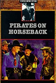 Pirates on Horseback Poster