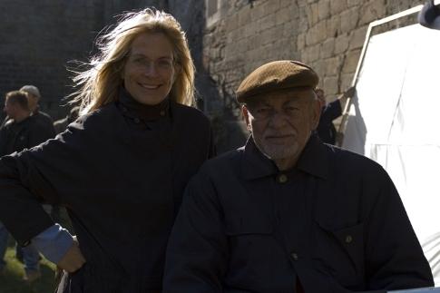 Dino De Laurentiis and Martha De Laurentiis in Hannibal Rising (2007)