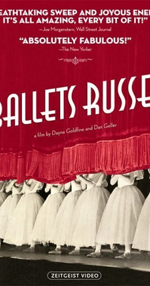 Ballets Russes IMDb - History dance film one brilliant video