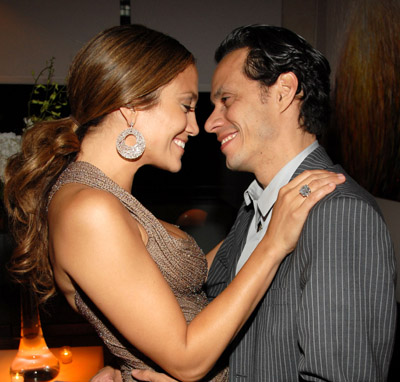 Jennifer Lopez and Marc Anthony at El cantante (2006)