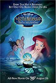 The Little Mermaid 3 Ariel's Beginning (2008) BRRip 480p 250MB Dual Audio ( Hindi – English ) MKV