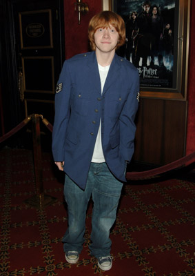 Rupert Grint at an event for Harry Potter and the Goblet of Fire (2005)