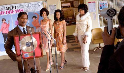 Jamie Foxx, Bill Condon, Beyoncé Knowles, Anika Noni Rose, and Jennifer Hudson in Dreamgirls (2006)