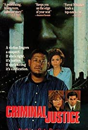 Criminal Justice (1990) Poster - Movie Forum, Cast, Reviews