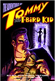 Tommy the T-Bird Kid Poster