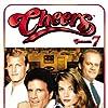 Kirstie Alley, Woody Harrelson, Ted Danson, and Kelsey Grammer in Cheers (1982)