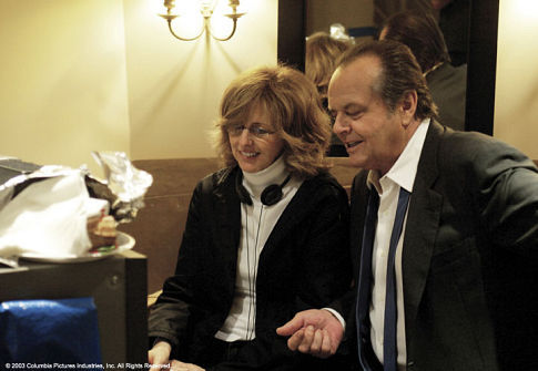 Jack Nicholson and Nancy Meyers in Something's Gotta Give (2003)