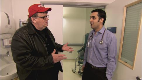 Michael Moore in Sicko (2007)