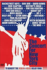 The Concert for New York City (2001) Poster - TV Show Forum, Cast, Reviews