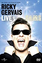 Image of Ricky Gervais Live 3: Fame