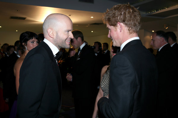Marc Forster and Prince Harry Windsor at an event for Quantum of Solace (2008)
