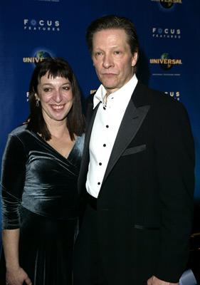 Chris Cooper and Marianne Leone
