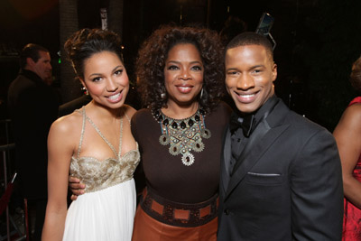 Oprah Winfrey, Jurnee Smollett-Bell, and Nate Parker at The Great Debaters (2007)