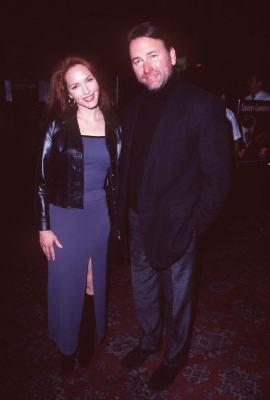 John Ritter and Amy Yasbeck at Hacks (1997)