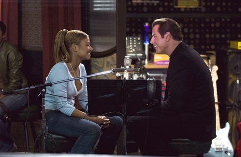 John Travolta and Christina Milian in Be Cool (2005)